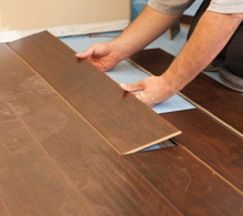 Hardwood flooring and carpet options in Peoria, IL.
