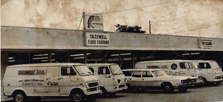 Tazewell Floor Coverings, Inc. Old Trucks